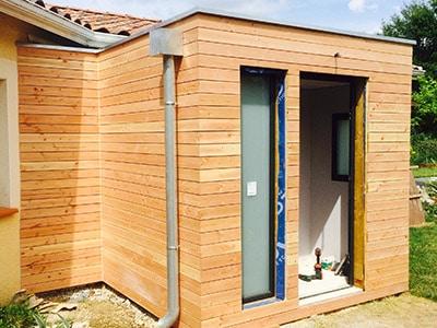 extension maison bois prix